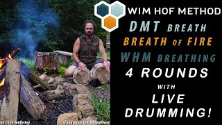 Breath of Fire, Wim Hof Method and DMT Breath;  with Live Music