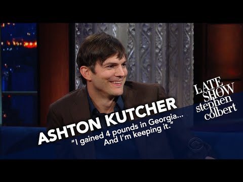 Ashton Kutcher Examines President Trump's Tweeting Style
