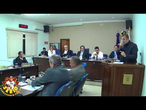 Vereador Júlio Português fala alto silencia a casa de Vereadores e  detona Presidente da Câmara Irineu Machado e fala sobre Nepotismo na Câmara