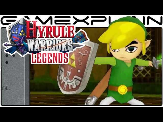 Hyrule Warriors Legends - Toon Link Character Trailer