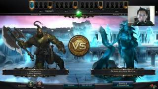 Hex: Shards of Fate - F2P Deck to earn Gold in Frost Ring Arena -