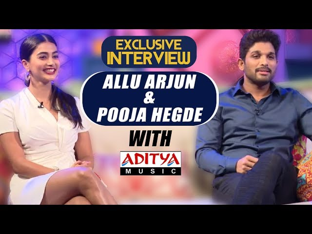 Live Interview With Allu Arjun and Pooja Hegde | Harish Shankar