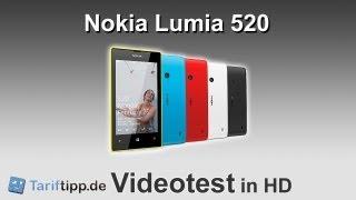 Nokia Lumia 520 | Test in HD (deutsch)