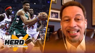 Broussard on Lakers' strength & superstar Dame, concerned about Bucks & Zion   NBA   THE HERD