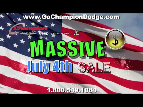 2016 DODGE & JEEP JULY 4th Sale - Los Angeles, Cerritos, Downey, Huntington Beach CA - RAM & CHRYSLER