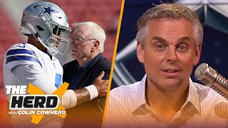 Colin Cowherd lists 5 facts working against Dak Prescott in contract negotiations | NFL | THE HERD