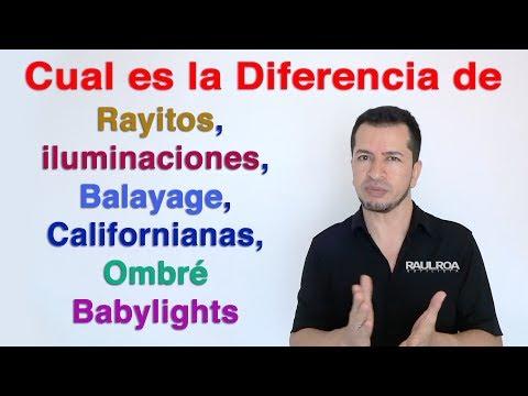 Diferencias Entre las Técnicas de Color RAUL ROA ESTILISTA