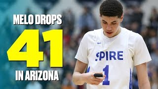 LaMelo Ball Drops an Easy 41 Points in Arizona - Full Game Highlights