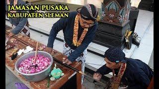 Prosesi Jamasan Tumbak Kyai Turun Sih, Pusaka Kabupaten Sleman