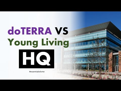 Terrific doTERRA VS Young Living Headquarters Overview