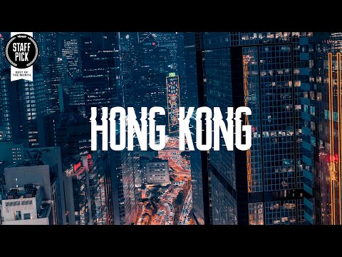 Magic of Hong Kong. Mind-blowing cyberpunk drone video of the craziest Asia's city