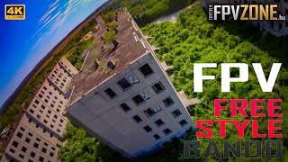 FPV FREESTYLE BANDO (practice) | | TRY2FLY | 4K