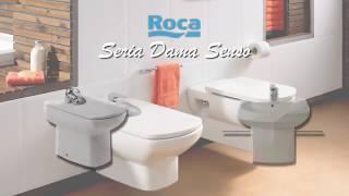 Унитаз напольный Roca Dama Senso Compacto, универсальный выпуск видео