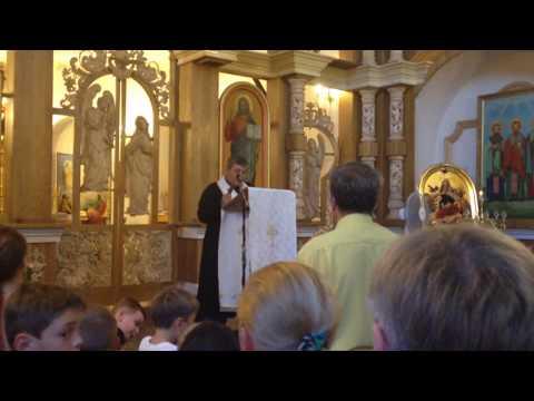 Молитва о. Яна Білецького у Львові
