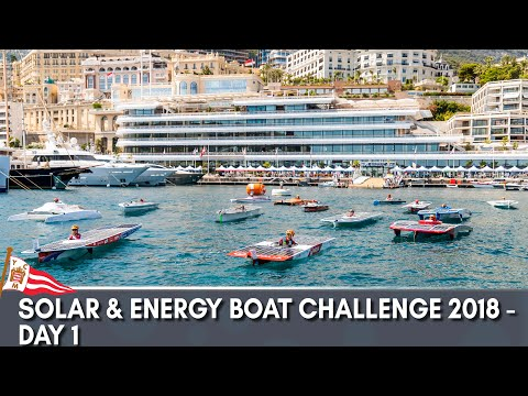Solar & Energy Boat Challenge 2018 - Day 1