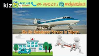 Get Sky Air Ambulance with Hi-tech Medical Machinery in Jamshedpur