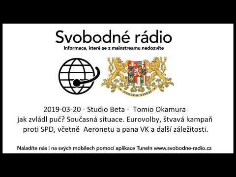 Tomio Okamura: Vystoupil jsem v přímém přenosu na Svobodném rádiu, kde jsem mluvil o zákulisí nejaktuálnější témat, která hýbou naší republikou.