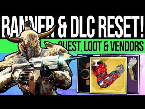 Destiny 2 | DLC RESET & BANNER RETURNS! Final Tribute, Quests, Activities & Eververse (23rd July)