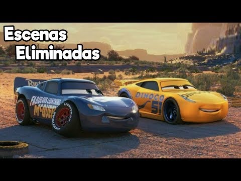 Las Increíbles Escenas Eliminadas de Cars 3