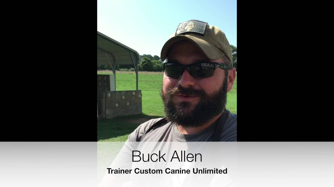 CCU Unleashed:  Why do you like training dogs? Buck Allen