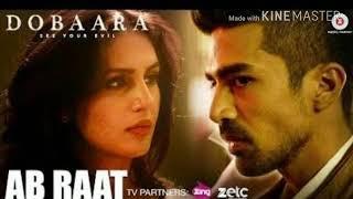 Ab Raat Karaoke With Lyrics | Arijit Singh | Dobaara