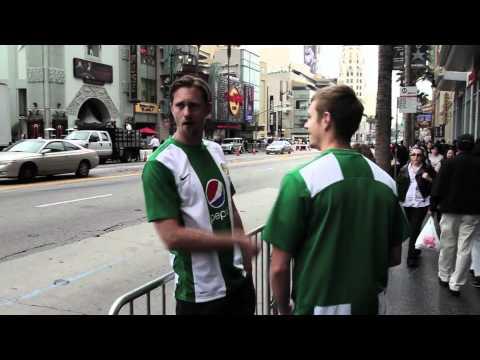 Hammarby Fotboll - Alexander Skarsgard & Joel Kinnaman Hitchhiking to Sweden