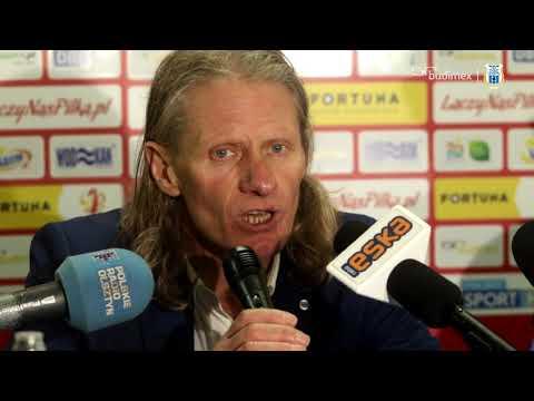 Konferencja prasowa po meczu Stomil - Sandecja Nowy Sącz