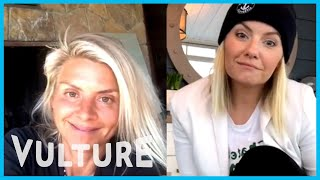 Two Friends: Eliza Coupe And Elisha Cuthbert