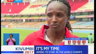 Hellen Obiri aims to star in the 500M world championships