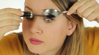 Kaşık Yardımıyla Pratik Göz Makyajı