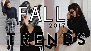 FALL TRENDS 2017: Outfit Ideas | Elesa Anthony