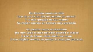 Juan Magan Feat. Gente De Zona - He Llorado (Como Un Niño) (Testo+Traduzione ITA)