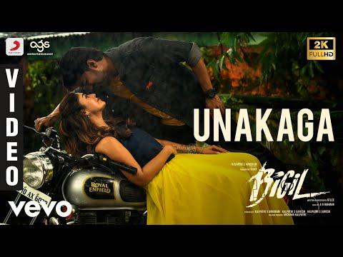 Unakaga Video Song From Bigil