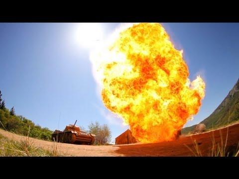 Camera Warfare: Watch DSLRs Get Used As Skirmish Weapons On The Battlefield