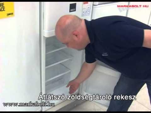 Zanussi ZRT 18100 WA hűtőgép Márkabolt
