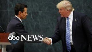 Donald Trump Meets Mexico's President