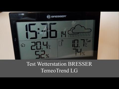 Wetterstation Bresser TemeoTrend LG im Test