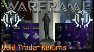 Warframe - Void Traders Returned! 148th Rotation [14th August 2020]