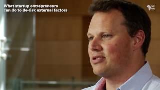 What entrepreneurs can do to de-risk external factors