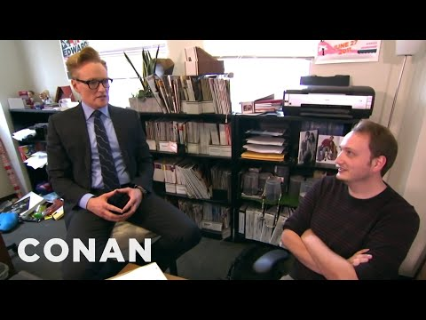 Conan Gives Staff Performance Reviews  – CONAN on TBS