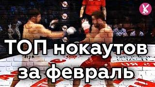 ТОП нокаутов в ММА | февраль 2018