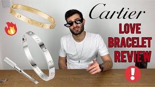 Cartier LOVE BRACELET Review!