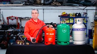 Refillable gas cylinders – expert advice from Practical Motorhome's Diamond Dave