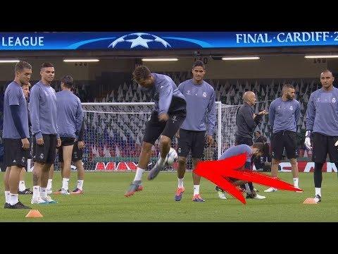 Cristiano Ronaldo'nun Antremanda Yaptiği Akil Almaz Hareketler !  -  2018  -  Hd