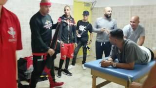 Video Sin editar desde los camerinos con las estrellas de Reggaeton