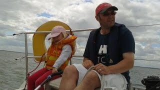 preview picture of video 'funNstuff 2013 family sailing holiday pt1 on a Benneteau 32s5'