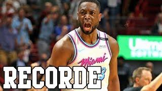 DWYANE WADE RECORDE - Rodada NBA 17/18 #57