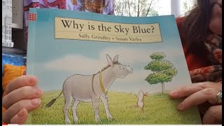 Why is the sky blue? Story time with Mrs Knight