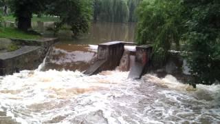 preview picture of video 'Most na Srebrnej, ul. Warszawska / Mińsk Mazowiecki, 15.07.2011'