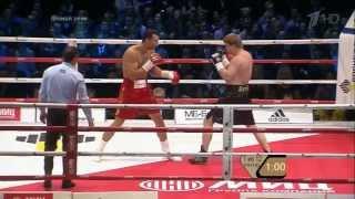 Klitschko vs Povetkin (12 rounds in 12 minutes)